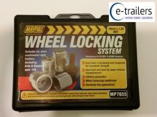 Maypole MP7655 Locking Wheel Nuts - Continental Erde Daxara trailers to 148 - M10 1.25 pitch